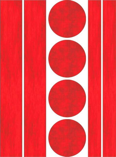 Reflektor Aufkleber Rot by Aufkleber Holografie Leucht Reflektoren 210 X 140 Mm Rot