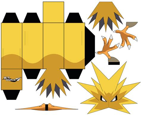 Zapdos Papercraft - zapdos papercraft images images