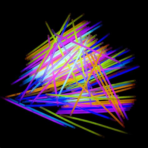 Glow Light by Light Up Glow Sticks Bright Neon Glo Lite Stix 8 In