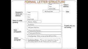 formal letter structure gcse english language youtube