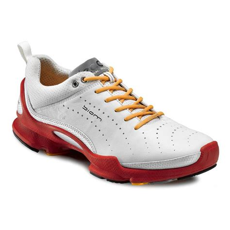 mens leather running shoes ecco mens biom b 2 1 running shoes silver metallic white