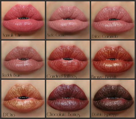 milani color statement lipstick swatches milani color statement lipstick swatches row 1