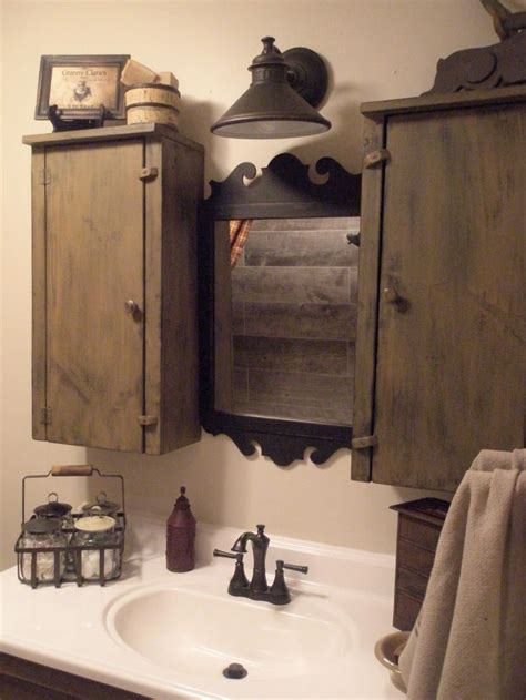 best 25 primitive bathrooms ideas on