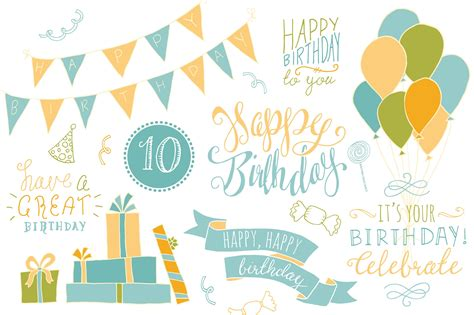 template photoshop happy birthday birthday photoshop overlays graphics creative market