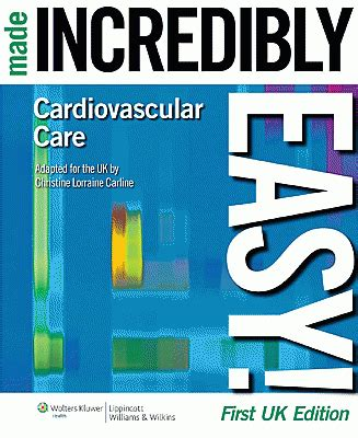 cardiovascular care made incredibly visual incredibly easy seriesâ books made incredibly eas vitaminfile