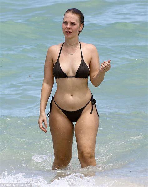 Michael Smith Designer by Swimsuit Designer Bianca Elouise Flaunts Her Derri 232 Re In