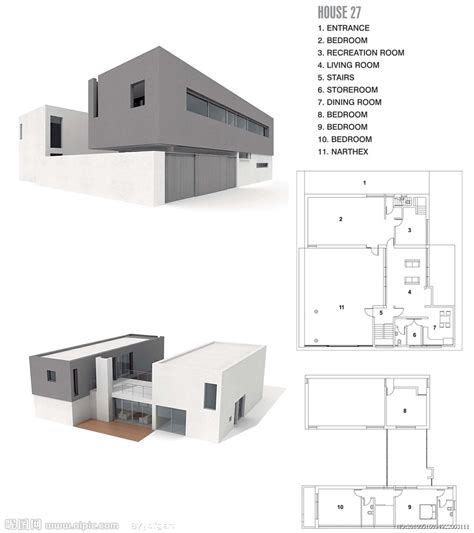 3d House Model 3d nipic com