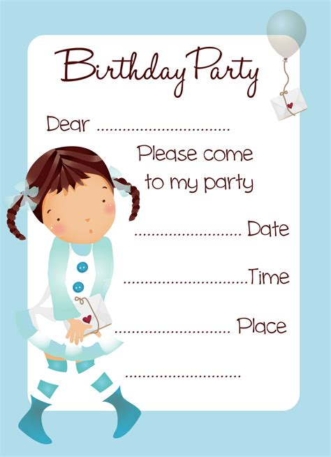 printable invitation for birthday printable birthday invitations 2 coloring kids
