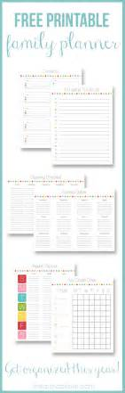 free printable family planner i heart nap time