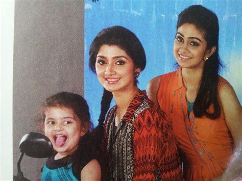 actress divya unni new photos divya unni with daughter sister vidya unni youtube