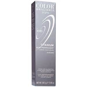 titanium ion color ion color brilliance brights semi permanent hair color