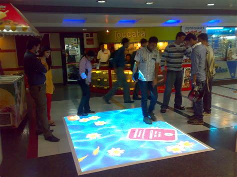 Floor Projector by Interactive Floor Projection System Touchmagix Showcase