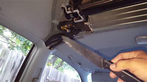 rear expansion valve  honda odyssey youtube