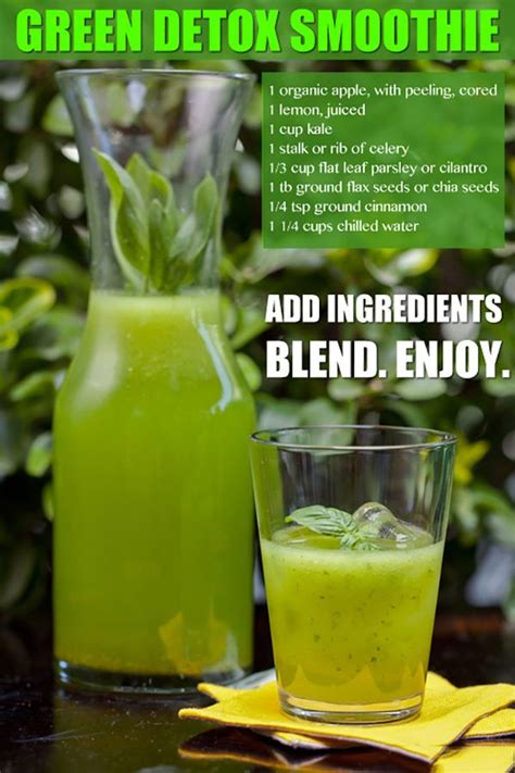 How To Make A Kale Detox Smoothie by Cleanse Detox Smoothie Recipe Celery Cilantro And