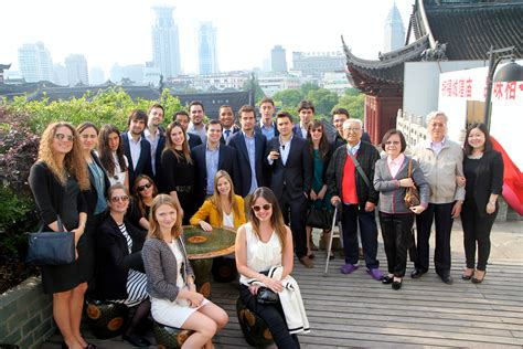 Mba Global Immersion by Global Immersion Experience Second Stop Shanghai Doing