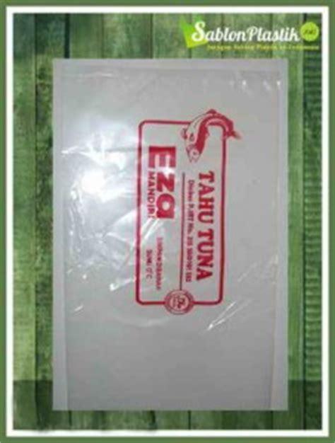Sablon Plastik Opp Pp 1 Sai 3 Warna Produk Usaha Anda plastik kemasan transparan sablon plastik