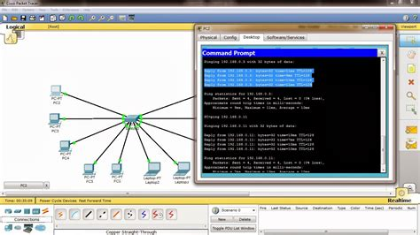 membuat jaringan lan di cisco packet tracer tutorial membuat jaringan lan sederhana cisco packet
