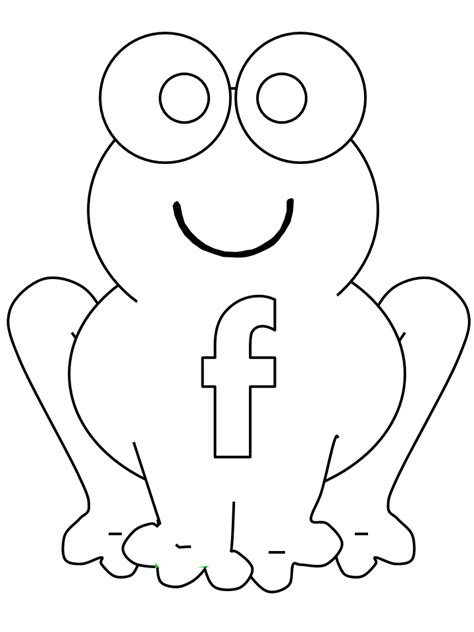 Alphabet F Coloring Pages by Free Coloring Pages Of F Is For Frog