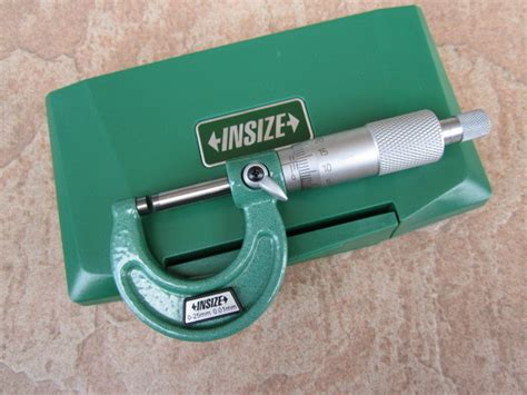 Insize Micrometer 0 25 insize 0 25mm outside micrometer my power tools