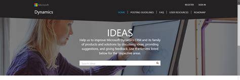 launching the new ideas portal for crm dynamics 365 - Ideas Portal