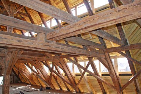 scheune konstruktion dachgeschossausbau in der scheune eines vierseithofs in