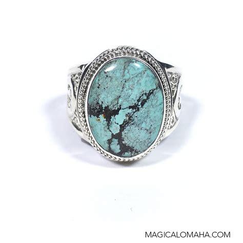 size 8 sterling silver turquoise ring by sarda sarda rng1