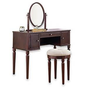 Makeup Vanity Set Bed Bath And Beyond Vanity And Stool Set Bed Bath Beyond