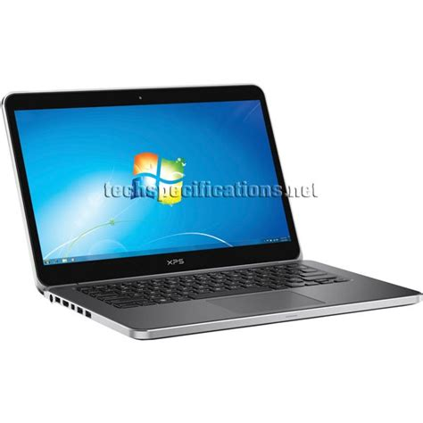 Laptop Dell Xps 14 Ultrabook technical specifications of dell xps 14 ultrabook
