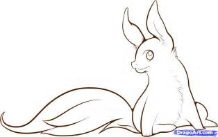 How to draw anime animal tail
