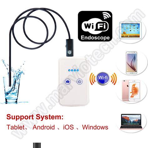 Set Wifi Endoscope Dengan Kabel 5 Meter 9mm dia usb wifi endoscope 10m cable wireless endoscope inspection ip66 waterproof ios