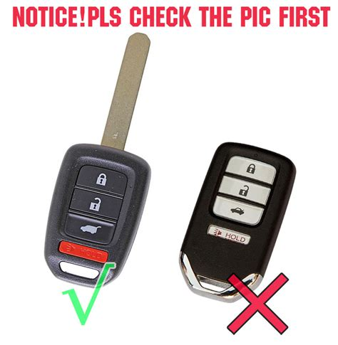 fit   honda silicone  button car fob smart key cover keyless holder case