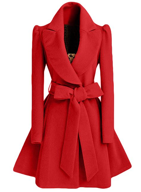 fashion swing fashion winter swing trench coat with belt azbro com