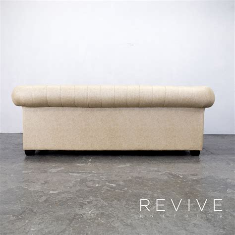 sofa leder beige chesterfield sofa leder chesterfield leather sofa pottery