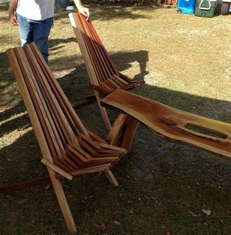 Wooden Slat Chairs by Custom Indoor Outdoor Wooden Slat Chair By Nature S