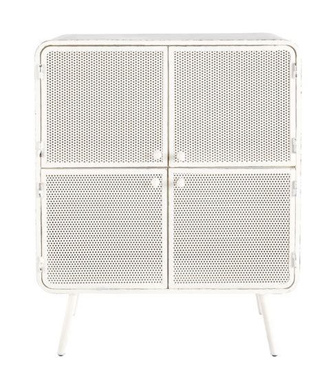 cabinet de rangement en m 233 tal blanc l 80 cm knokke