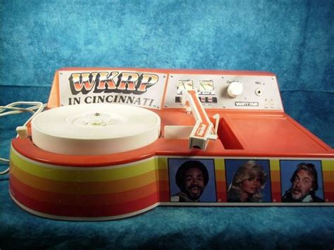 Cincinnati Records Wkrp In Cincinnati Record Player With Microphone Toys