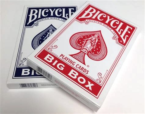 box of cards bicycle big box cards only