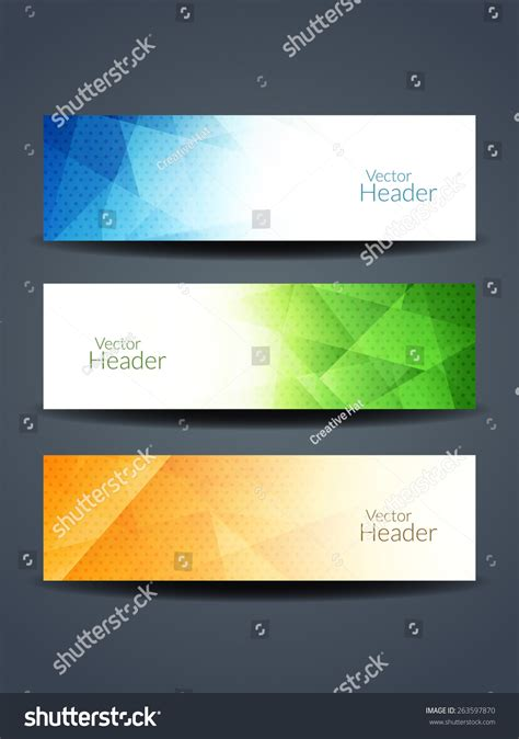 header design stock photos images pictures shutterstock set of abstract beautiful web header banner designs stock