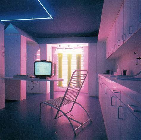 ugo la pietra  interior design vaporwave interior