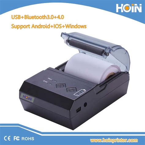 Portable Printer Bluetooth Android bluetooth mobile printer portable ios android mini