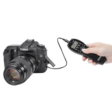 Remot Micnova Cable Remote Shutter For Nikon Mq S2 neewer nw 880 wired timer remote shutter release for dslr