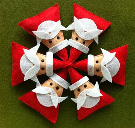 30 wonderful diy felt ornaments for christmas