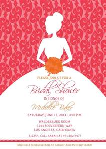 bridal shower invitations bridal shower invitation