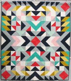 Geometric Quilt Patterns by 25 Best Ideas About Geometric Quilt On Modern