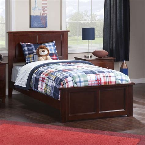 twin xl beds furniture atlantic furniture madison twin xl panel platform bed in