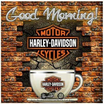 Morning Harley Davidson by Morning Biker Mornings Morning