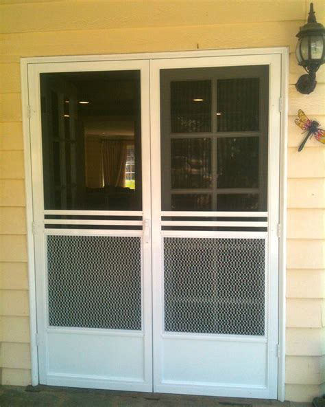 Screen Doors For Doors by Swinging Screen Doors Screen Door And Window Screen