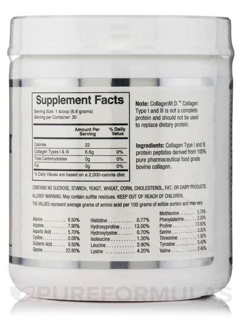 Mds Collagen collagen i iii powder 7 oz