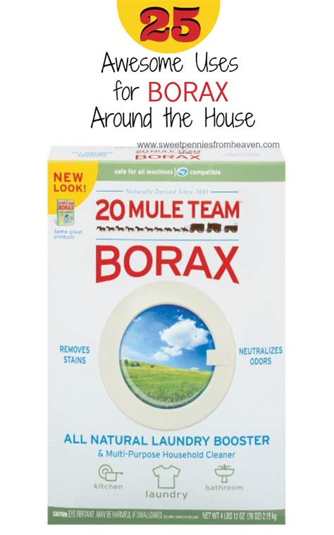 is borax safe for dogs 25 awesome uses for borax around the house