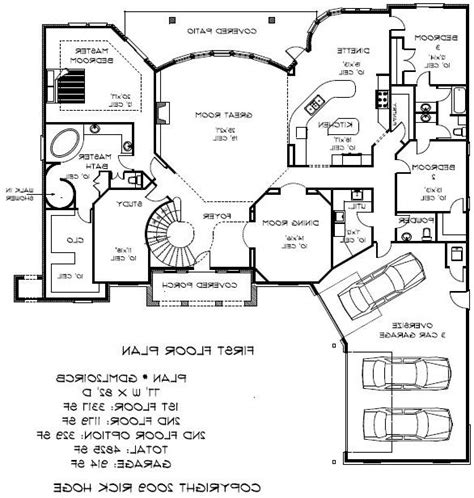 home floor plans 5000 square feet 5000 square foot house plans photos